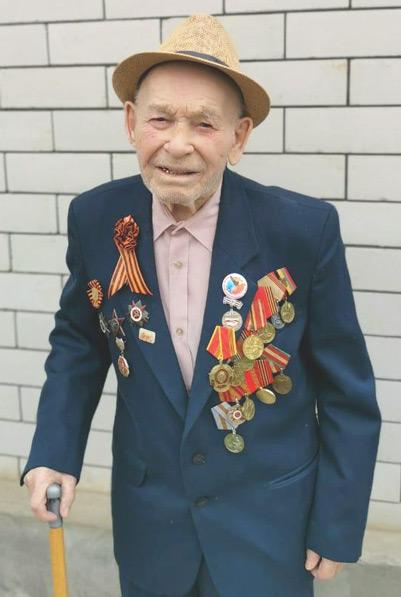 Участник Великой Отечественной войны Семён Герасимович СЕРГИЕНКО