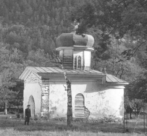 Северный храм. Общий вид, юго-восточный фасад