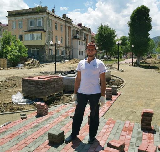 Мастер участка ООО «Гарант» Ачемез ЭРКЕНОВ