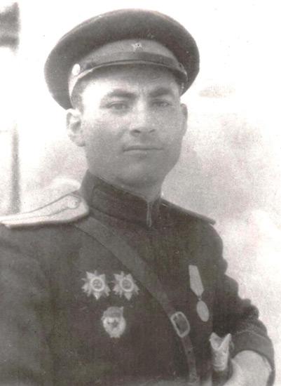 Лейтенант Михаил Александрович ЕПХИЕВ
