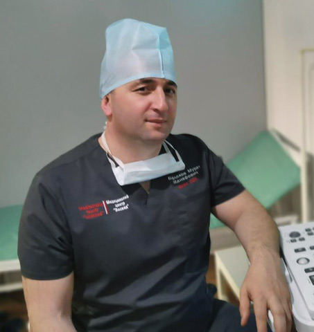 Сосудистый хирург Мурат БОРЛАКОВ