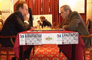 Виталий Цешковский и Гарри Каспаров