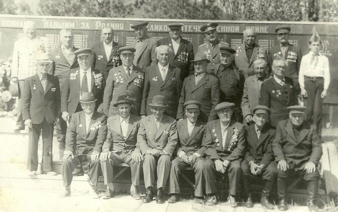 Ветераны Великой Отечественной, 1980 год