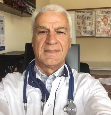 Доктор медицинских наук, профессор Борис ДАУРОВ