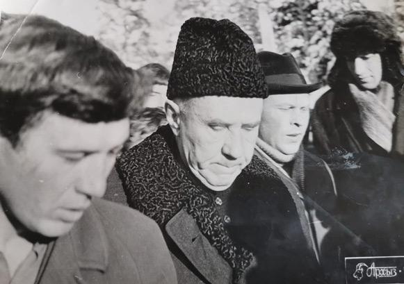 Алексей КОСЫГИН любил бывать в Архызе (январь 1972 г.)