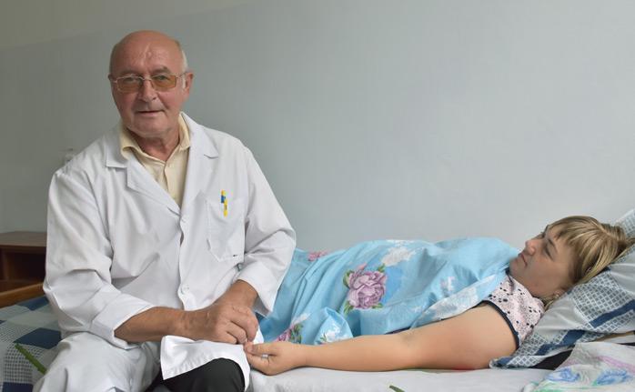 Главный врач Исправненской участковой больницы Дмитрий МАРТЫНЕНКО