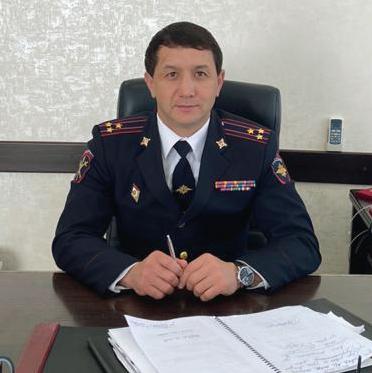 Полковник полиции, начальник МО МВД России «Адыге-Хабльский» Заур Найманов