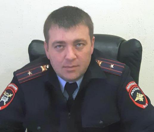 Начальник ОГИБДД МО МВД России «Хабезский» майор полиции Шамиль Казаноков