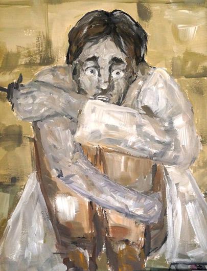 Рисунок «Страх» победительницы конкурса А. Казаноковой