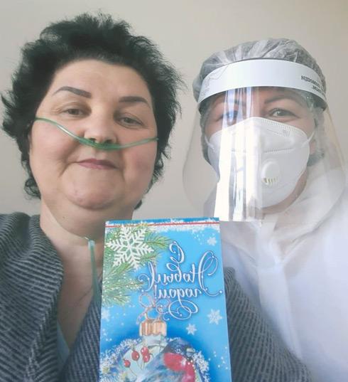 Медсестра Правокубанского ковид-госпиталя Венера КАРГИНОВА с душой относится к своей работе