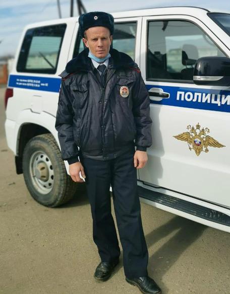 Майор полиции Михаил КУЛАКОВ - всегда при исполнении своих обязанностей