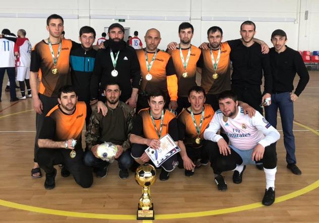 Футбольная команда «Кумыш» - лучшая в республике
