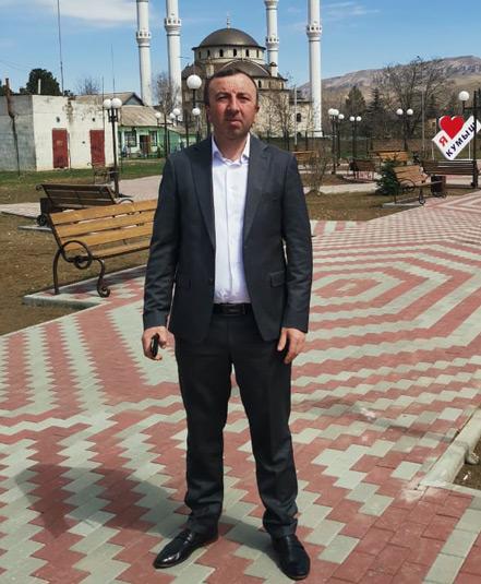 Глава администрации Кумышского СП Биберт КОРКМАЗОВ