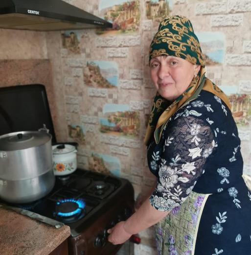 Асият БОТАШЕВА: «С природным газом в дом пришёл комфорт!»