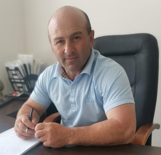 Глава администрации аула Кызыл-Уруп Науар ЧОЧИЕВ