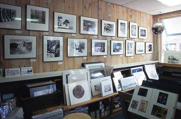 Выставочный зал в студии «Голден Галл»