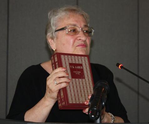 Писатель-журналист Светлана Умаровна АЛИЕВА (1936 - 2020)