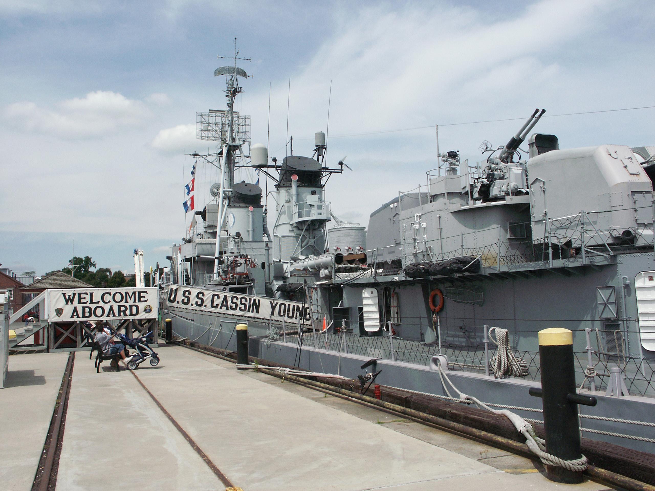 """""""Кассин Янг""""  - эсминец Второй мировой войны"""