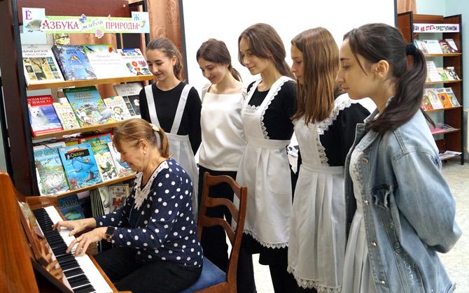 Участники праздника «Музыки взволнованная речь» в КЧРДБ им. С.П. Никулина